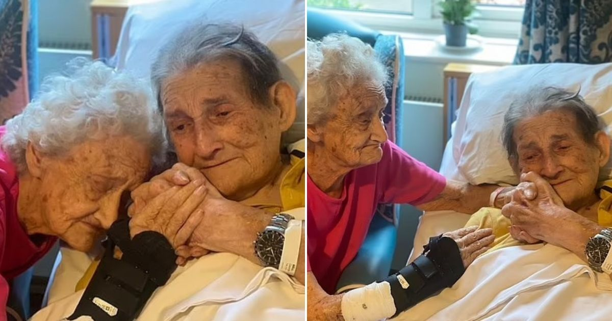 untitled design 40 1.jpg - Tear-Jerking Moment Husband And Wife Of 66 Years Break Into Tears As They Are Reunited After Being 100 Days Apart