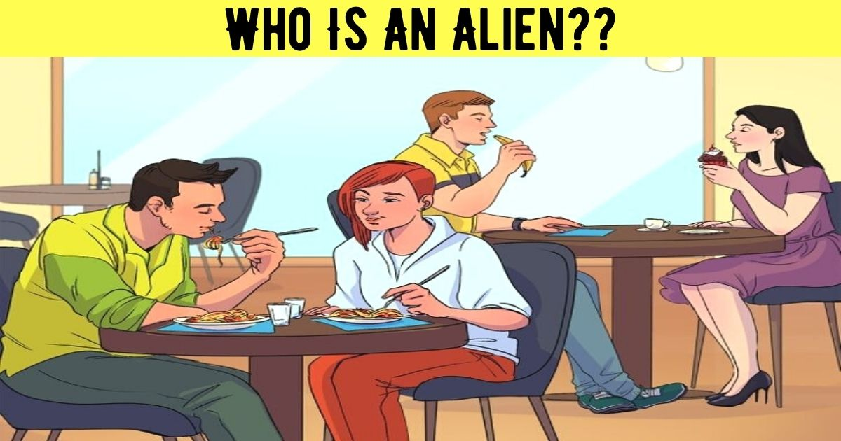 who is an alien.jpg - How Fast Can You Spot The Alien In This Picture? 90% Of People Couldn't Figure Out The Correct Answer!