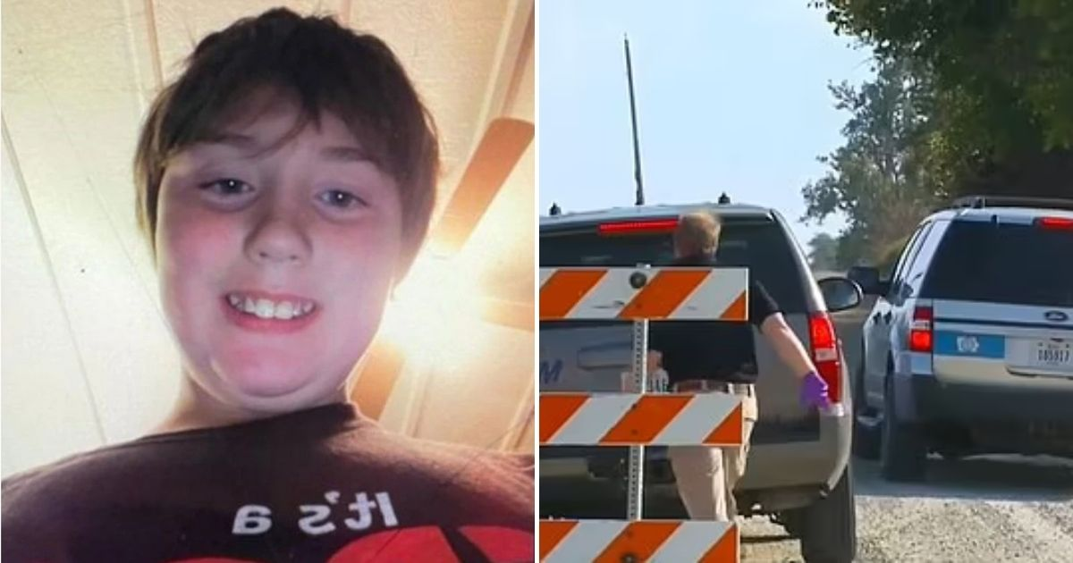 xavior5.jpg - Remains Of An 11-Year-Old Boy Who Went Missing After He Took His Bicycle For A Ride Have Been Found In A Cornfield